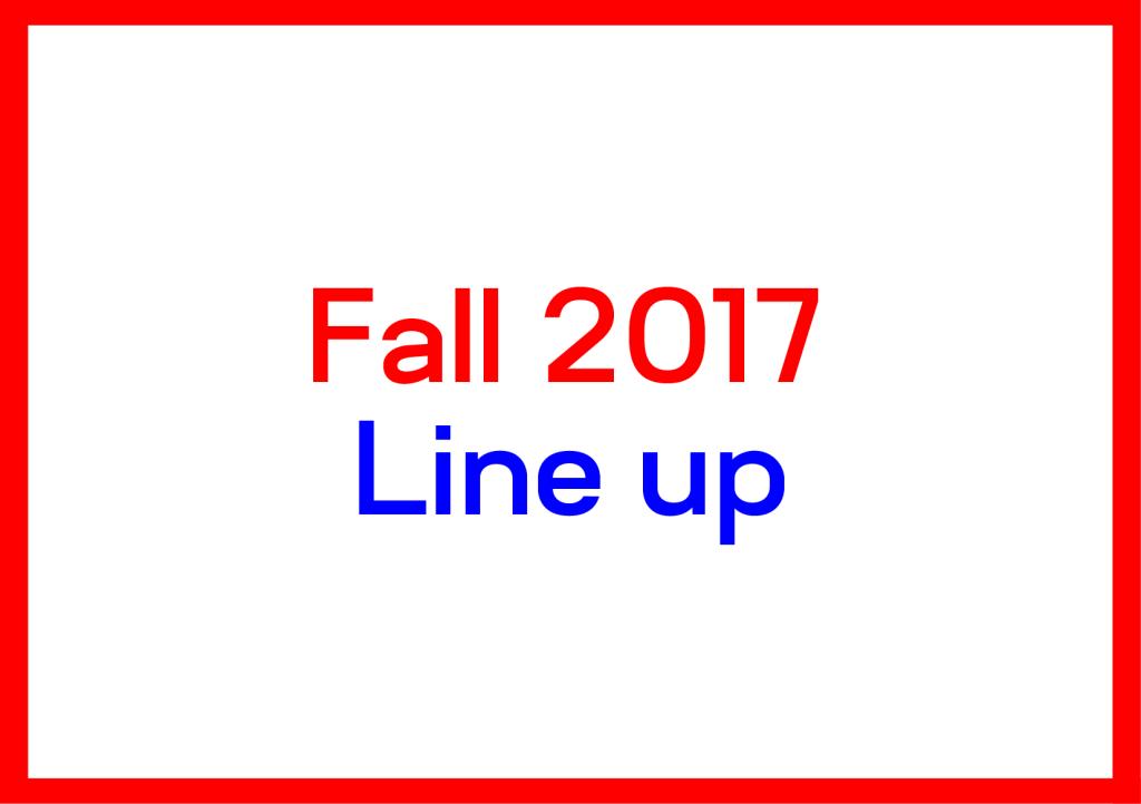 lineupfall2017